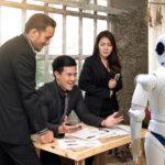 En robot i menneskenes verden